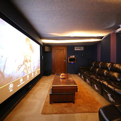 广州金湖全宅智能私人影音定制:达尼7.1.4全景声家庭影院、整装娱乐解决方案
