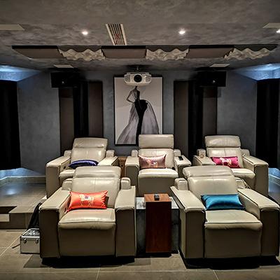 杜比全景声,定制类多功能影音室――丹麦达尼高端影音专业私人住宅案例赏析